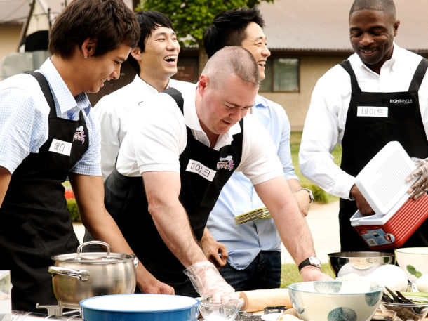 Bake that team building event - Right Angle Corporate Events