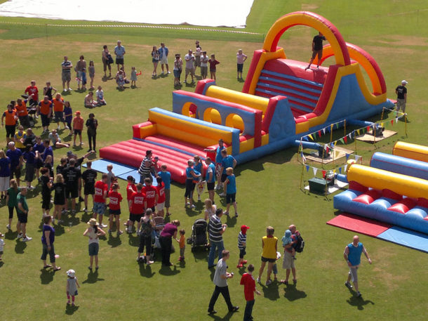 It's A Knockout Team Building Event - Right Angle Corporate Events