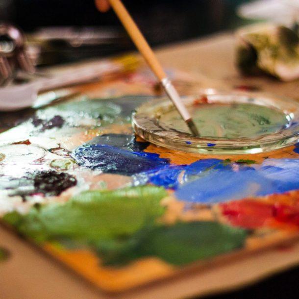 art paint acrylic artist