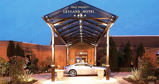 Right Angle Corporate events venues - Lancashire - Leyland Hotel