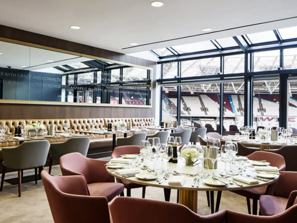 Right Angle Corporate Events - London Stadium Venue