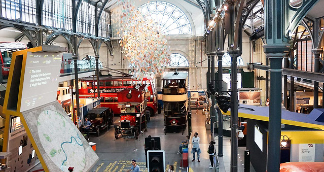 Right Angle Corporate Events Venues - London Transport Museum - City of London