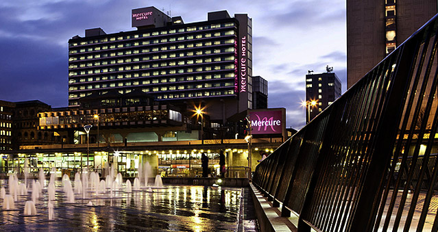 Right Angle Corporate Events Venues - Mercure Manchester Piccadilly Hotel - Manchester