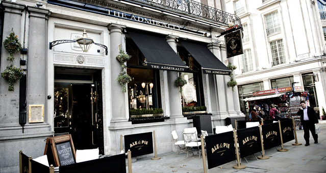 The Admiralty - Central London - Right Angle Corporate Events Venues