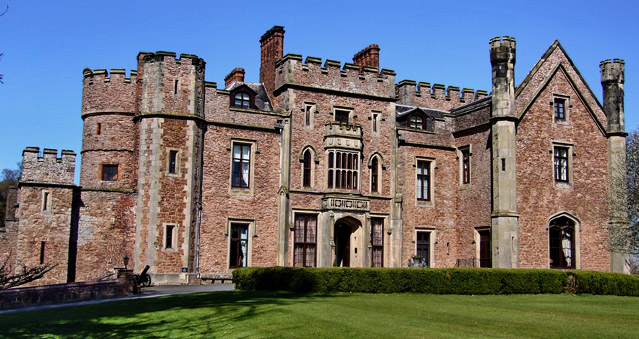 Right Angle Corporate Events Venues - Rowton Castle Hotel - Shropshire