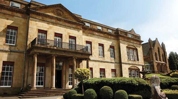 Right angle Corporate Events Venues - Shrigley Hall Hotel & Spa