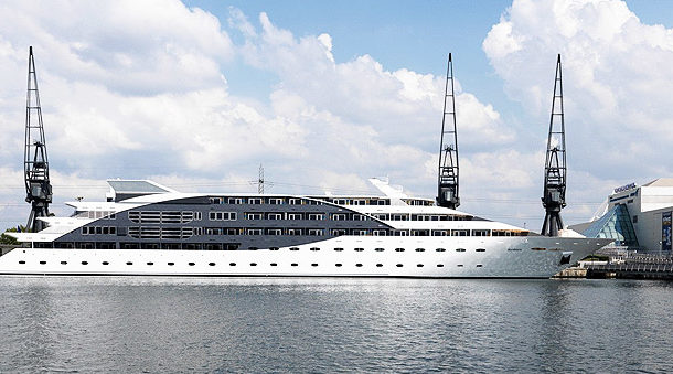 Right Angle Corporate Events Venues - Sunborn Yacht - London
