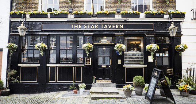 Right Angle Corporate Events Venues - The Star Tavern - Central London