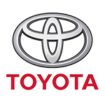 Toyota logo - Right angle corporate events