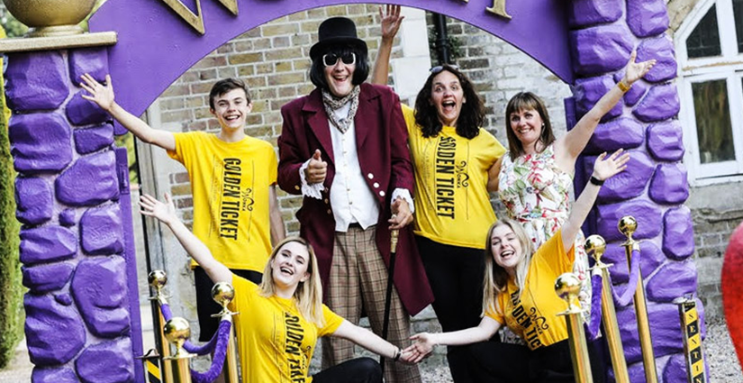 Right Angle Corporate Events - Charlie and the Chocolate Factory Themed Corporate Party