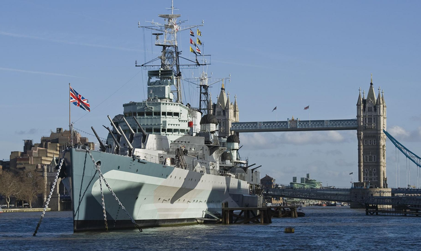 Right Angle Corporate Events venues - HMS Belfast