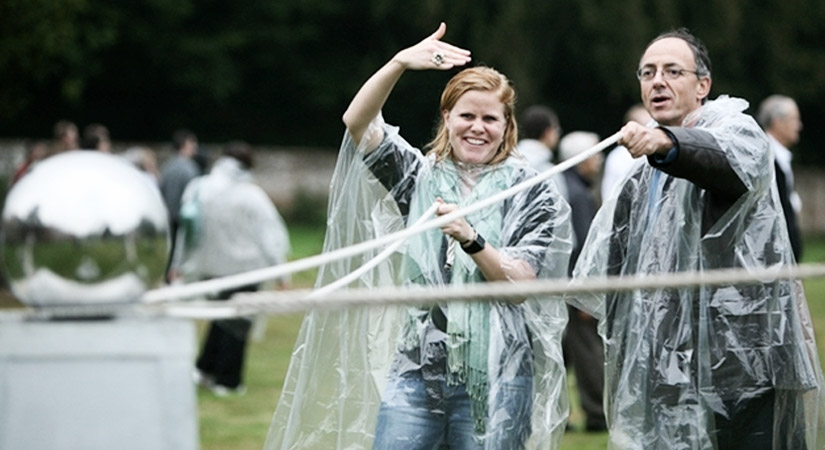 Top 40 Team Building Events in the UK - Right Angle Corporate Events - Awakening the dead