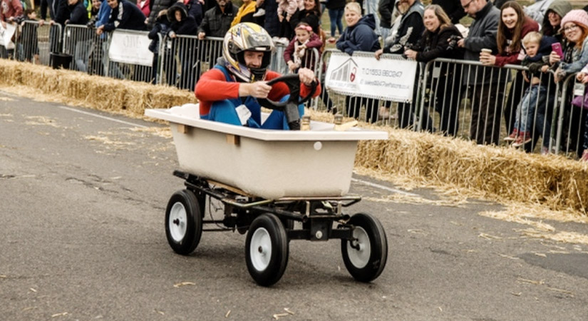 Top 40 Team Building Events in the UK - Soap Box Derby - Right Angle Corporate Events