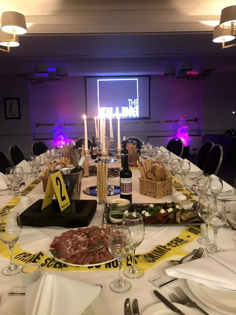 Crime & Dine Experience | Right Angle Corporate Events