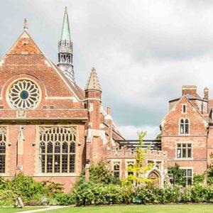 Cambridge Team Building Events - Homerton Collge