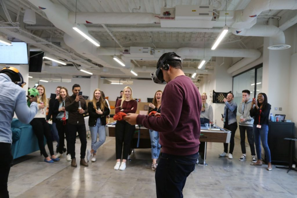 VR Team Building For The Whole Office