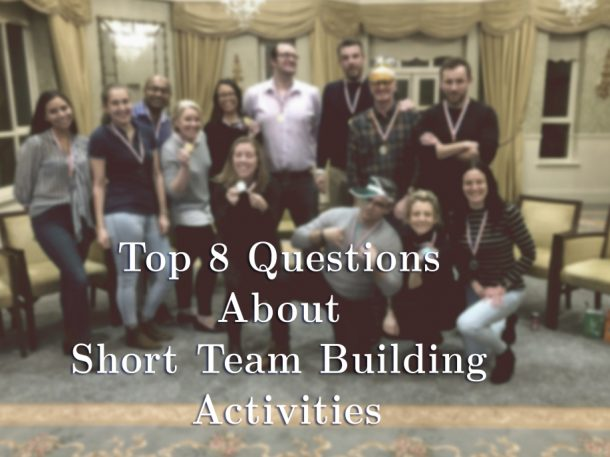 Short team building questions